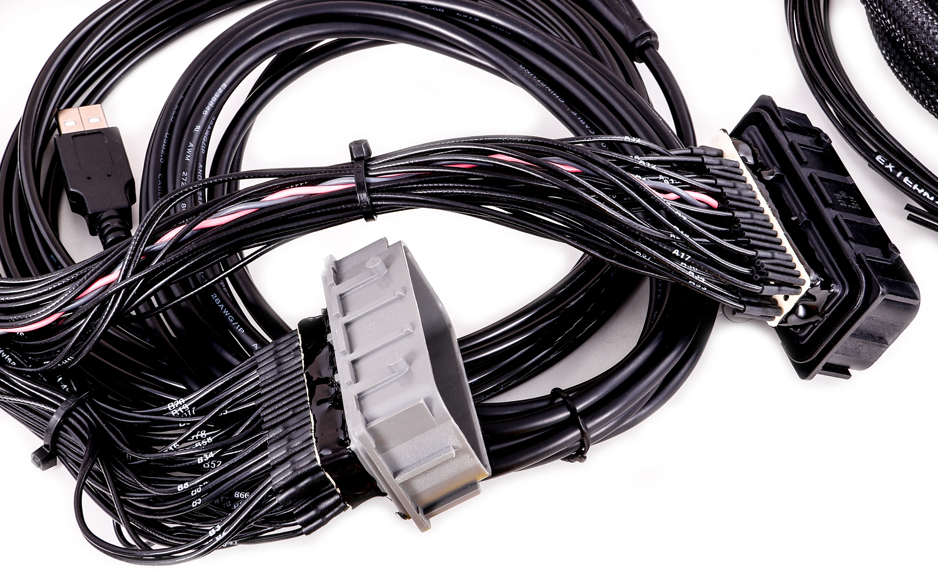 Maxxecu Pro Plugin Ecu For Corvette C6 Wire Harness E38 Ecm Connectors