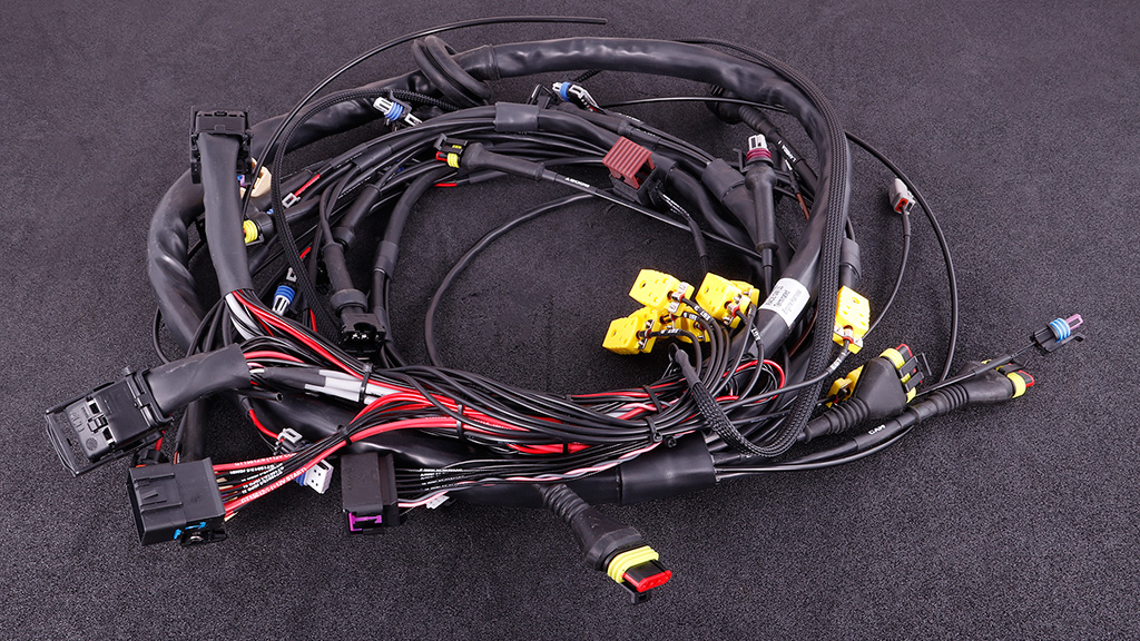 MaxxECU GM LS terminated engine harness