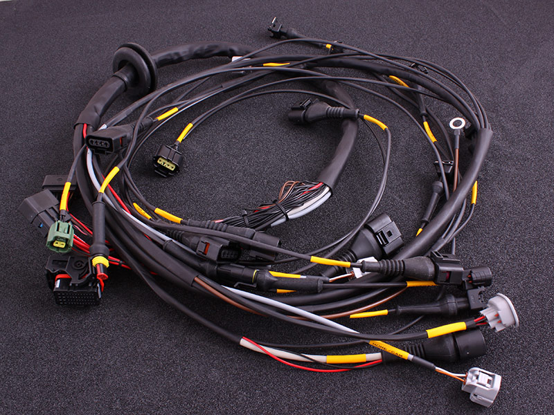 Toyota 2JZ terminated engine harness