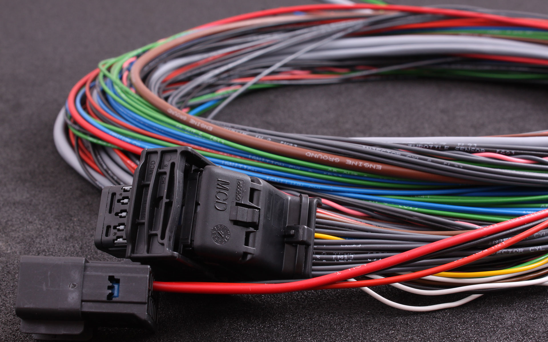 Maxxecu V1 Advanced Engine Control System Race Car Wiring All Consists Of High Quality Automotive Thin Wall Cable Cables Are Labeled With Their Functions We Have Done Everything For A Stress