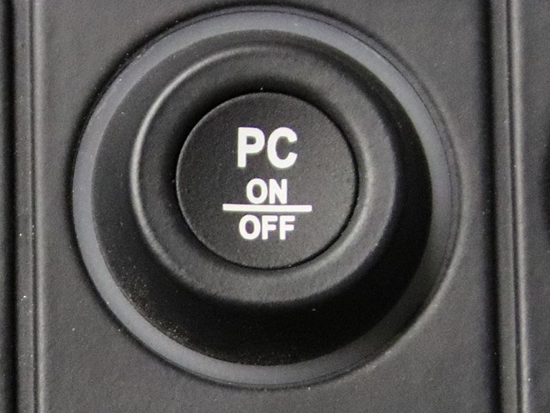 PC on/off, icon CAN keypad
