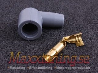 Complete spark plug boot matching MSD Blaster 8202/8203 90degree