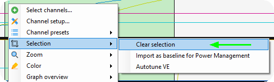 Autotune (from logfile)