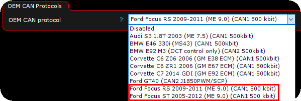 Ford Focus RS/ST 2005 - 2012 (ME 9 0)